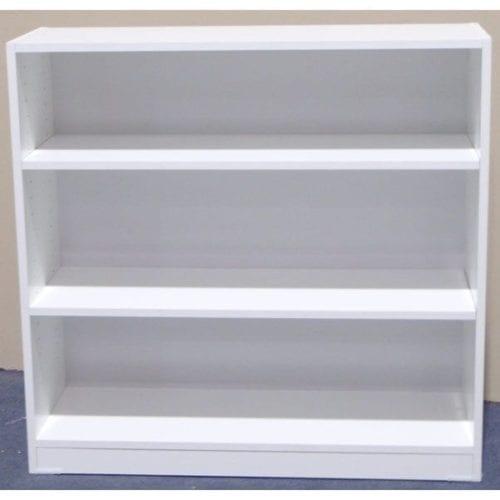 Melamine 3×3 Bookcase – 900x900mm_Melamine Bookcases