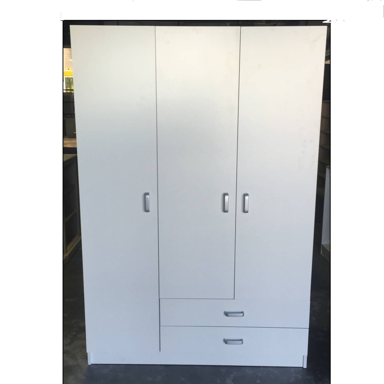 Rta wardrobe 1200 3 door 2 drawers ebay for 1200 door