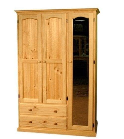 Maitland 3 Door 2 Drawer & 1 Long Door – RAW_Timber Wardrobes