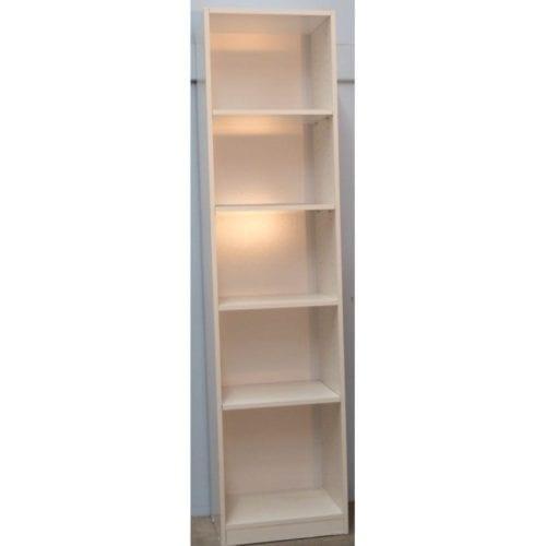 Melamine 6×18 Bookcase – 1800 x 450mm_Melamine Bookcases