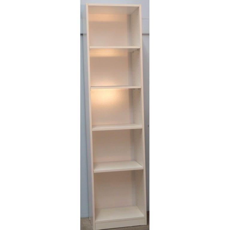 cherry medium wood bookcases bookcase square product seven x alera shelf corner