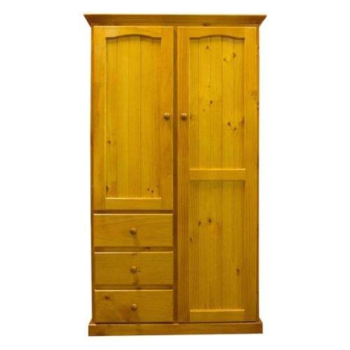 Colonial 2 Door 3 Drawer Wardrobe_Timber Wardrobes
