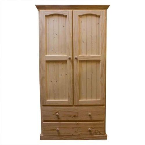 Colonial 2 Door 2 Drawer Wardrobe_Timber Wardrobes