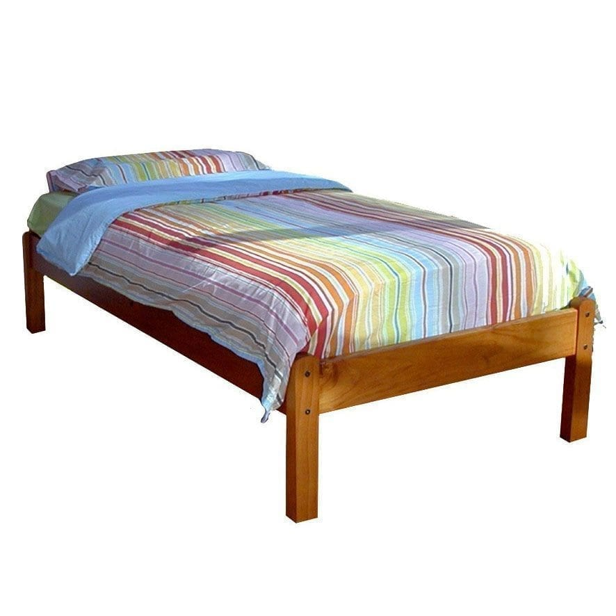 Hamilton single bed base one stop pine for Single bed base