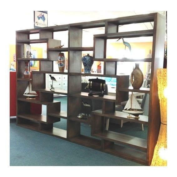 bookshelves bookshelf throughout of photo photos gallery ikea zigzag viewing diy furniture zig attachment zag bookcase shelves