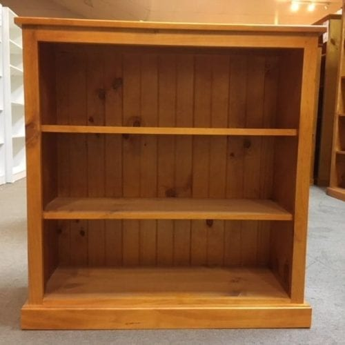 Colonial Bookcase 900h x 940w RAW_Timber Bookcase