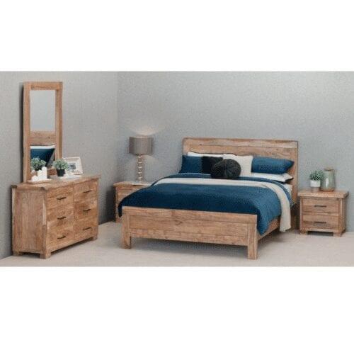 alberta 4 piece queen bedroom suite