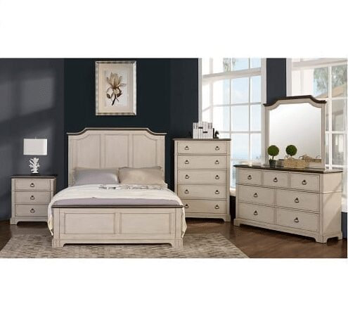 Angle Bya king bedroom suite with dresser