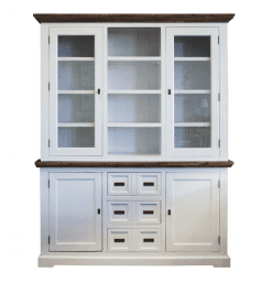 Chateau range - White Acacia with timber top