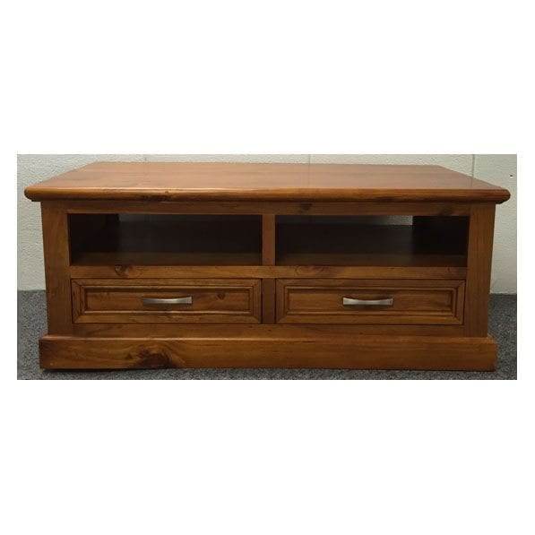Cottage Coffee Table 2 Drawer One Stop Pine
