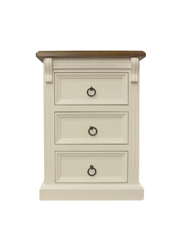 Jane Two Tone Bedside_Chests Timber