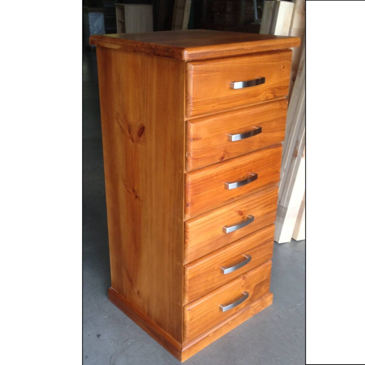 Katoomba 6 Drawer Lingerie Chest Extra Deep One Stop Pine