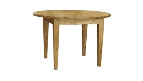harlow round timber dining table