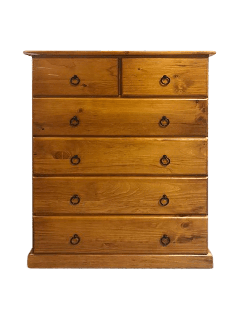 Promo 6 Drawer Timber Tallboy_Chests Timber