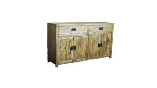 harlow timber sideboard chest