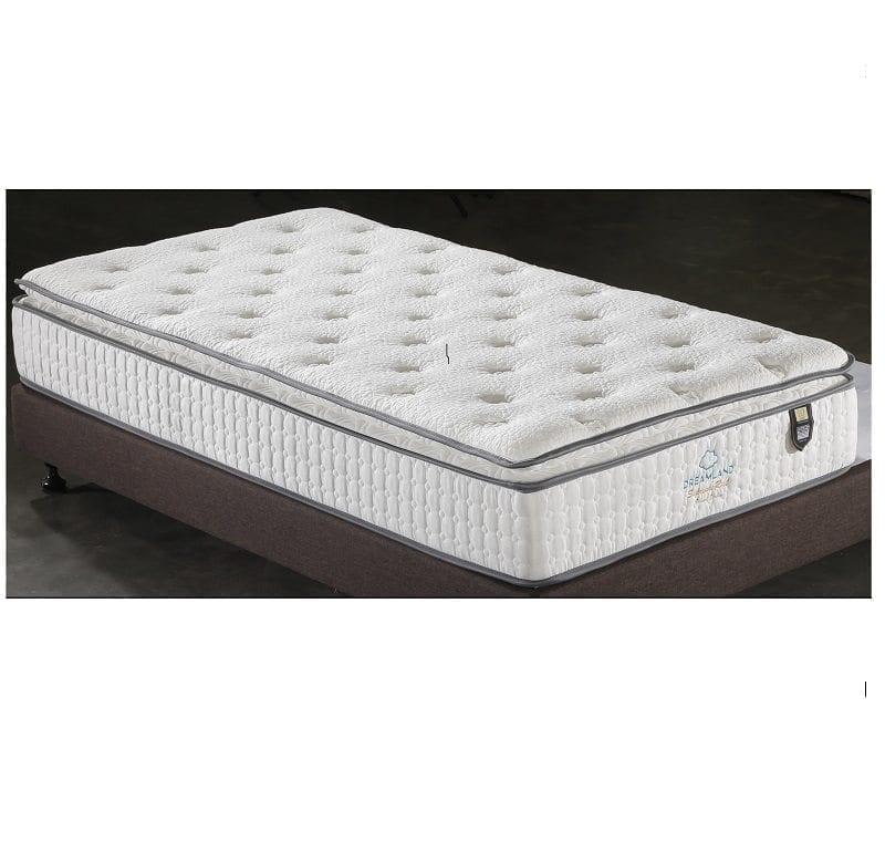 finest selection 69e6c 3f452 Dreamland Bonnel pillow top Mattress - King Single