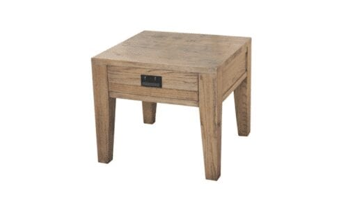 harlow small timber end table