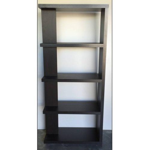 RTA -Bookcase fin-tale Chocolate_Melamine Bookcases