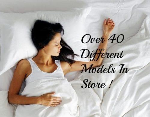 Over 40 Models