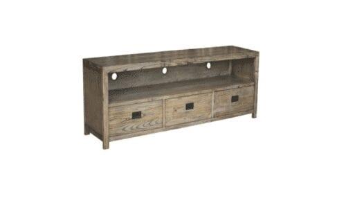 harlow timber 3 drawer tv entertainment unit
